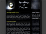 Speaking-in-Tongues.net